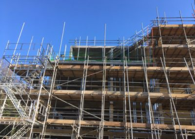 Elite Scaffolding - Commercial Build