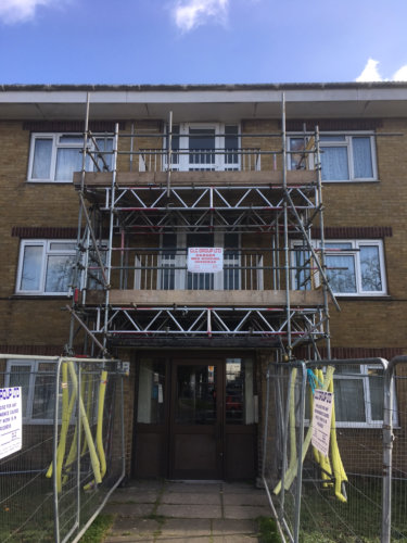 Elite Scaffolding - Domestic Scaffold 6