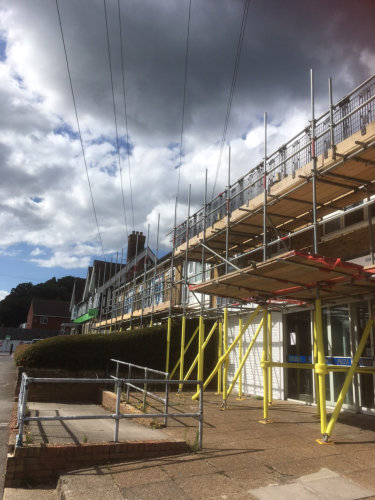 Elite Scaffolding - High Street Scaffold