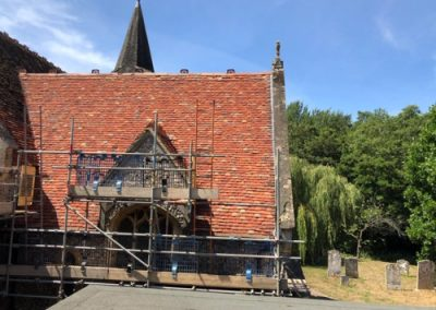 Elite Scaffolding Southern Ltd Church 500x375