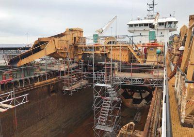 Naval Scaffolding Landscape